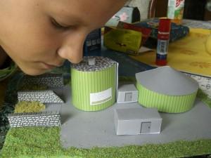 Biogasmodell Bildung Bioenergerie